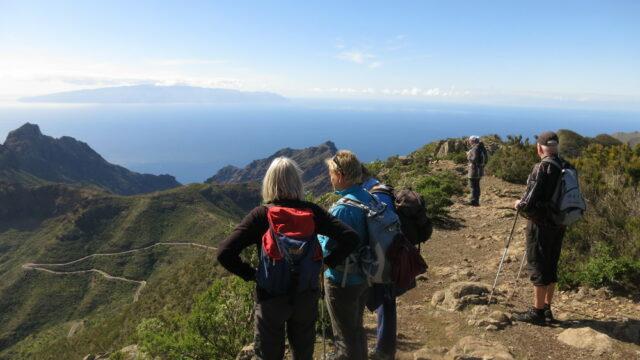 Wandern in Teneriffa Süd