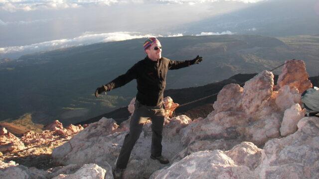 Geschafft-Teide-Gipfel
